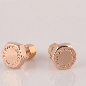 Marc Jacobs Hexagon stud earrings